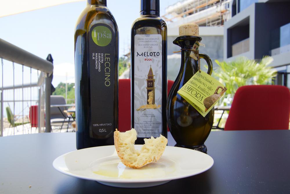 Restaurant Navis - 3 Olivenöle zur Auswahl