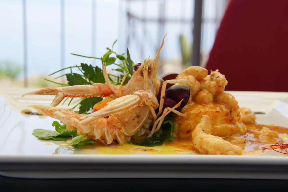 Restaurant Navis - Langustinengericht