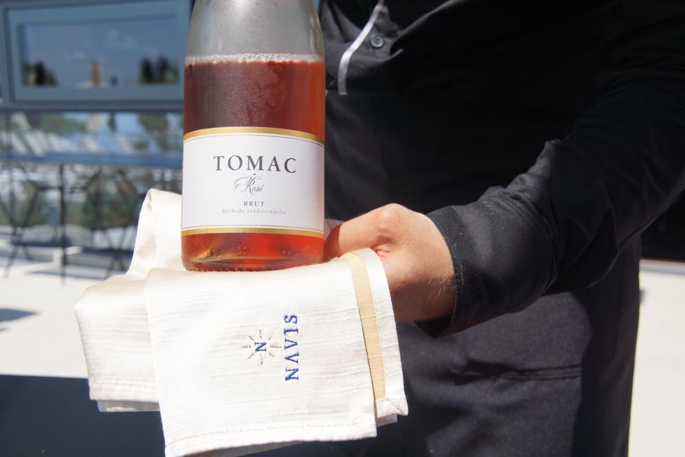Tomac Rose brut - Ein Klasse Champagner