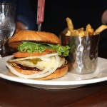Annabelle's Famous Keg and Chowder House - Lachsburger