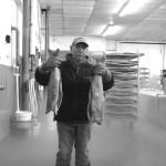 Arbeiter in der Frostabteilung in Ketchikan