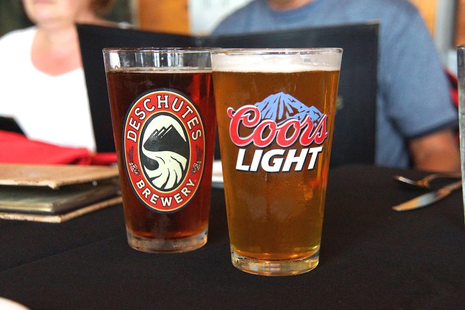Bier in Alaska - Saukalt serviert aber bekömmlich