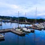 Der Hafen von Kodiak am Morgen