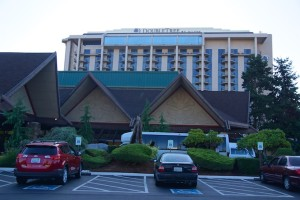 DoubleTree by Hilton Airport Seattle - Frontansicht