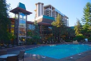 DoubleTree by Hilton Airport Seattle - Poolansicht