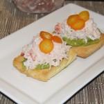 Salt Restaurant Juneau - Crab Sandwich -