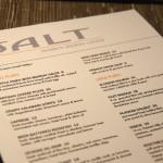 Salt Restaurant Juneau - Speisekarte