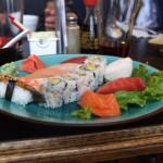 Sushi Platte im Old Powerhouse