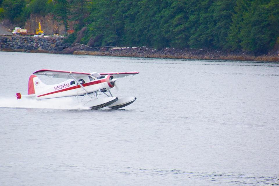 Wasserflugzeuge - Weit verbreitet in Ketchikan