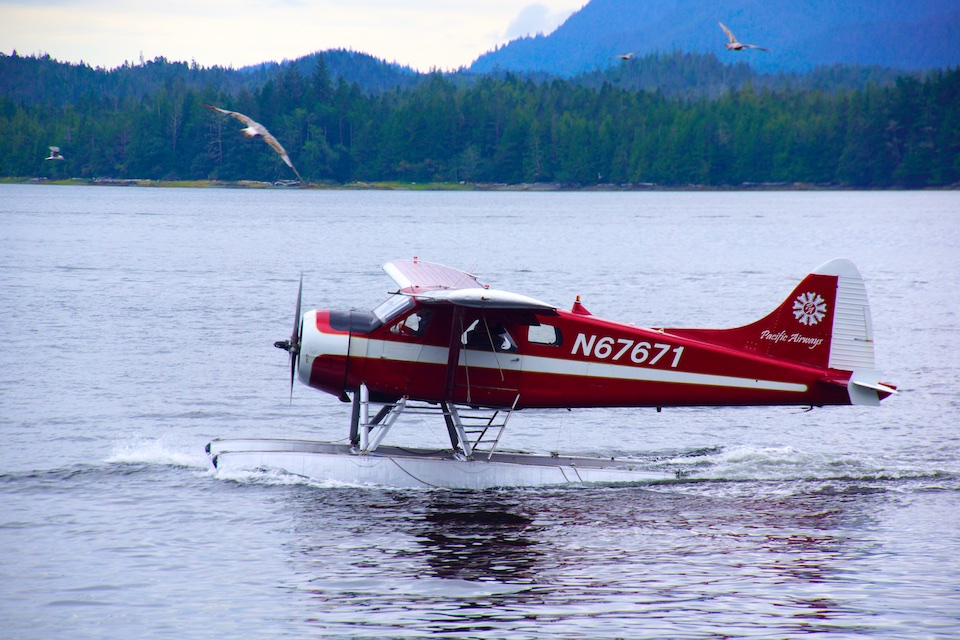 Wasserflugzeuge in Ketchikan