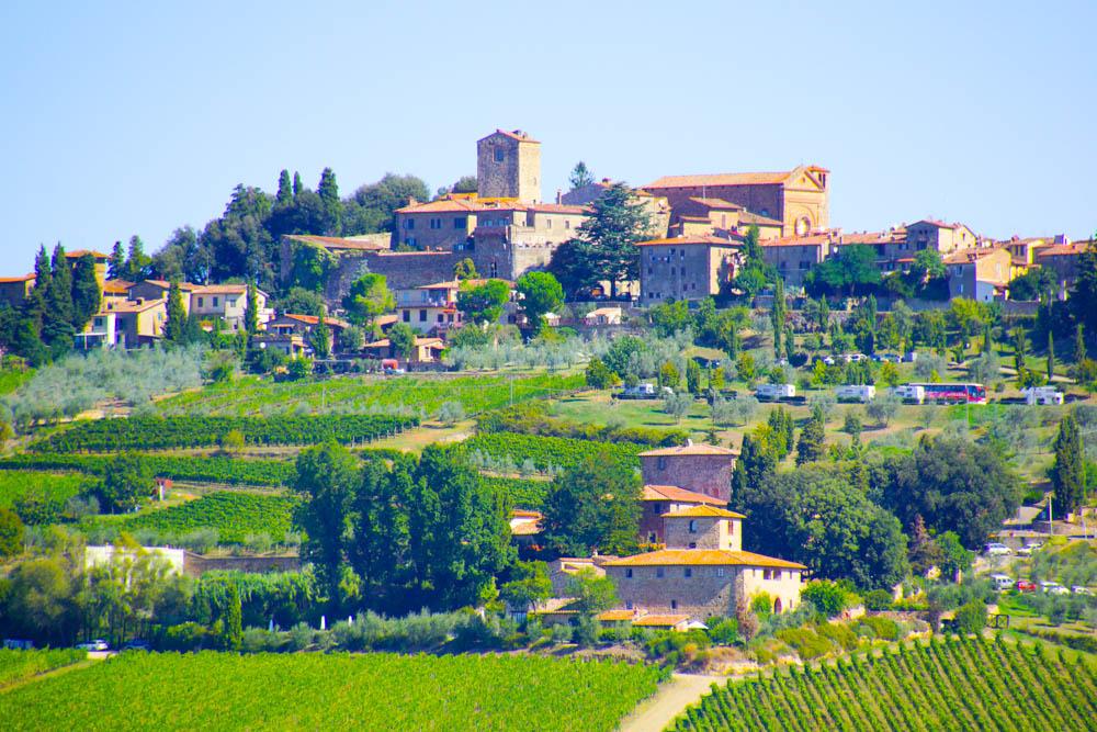 Dörfer in der Toskana - Zum Träumen schön