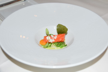 Fischers Fritz Berlin - Amuse 2 - Lachs