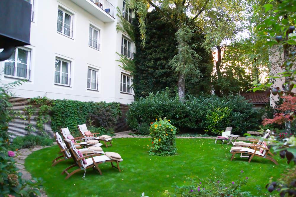Hotel Auersperg Salzburg - Der ruhige Innengarten