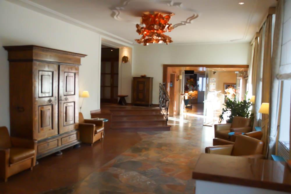 Hotel Auersperg Salzburg - Die stilvolle Lobby