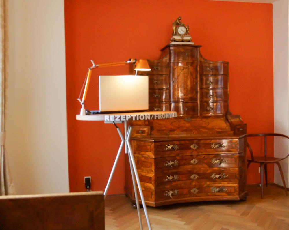 Hotel Auersperg Salzburg - Lobby - Moderne und Antiqutäten verbinden sich