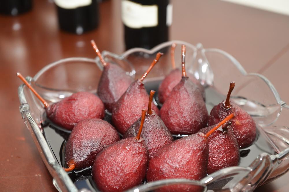 Birnen in Rotwein eingelegt - Eine Köstlichkeit zu Weihnachten