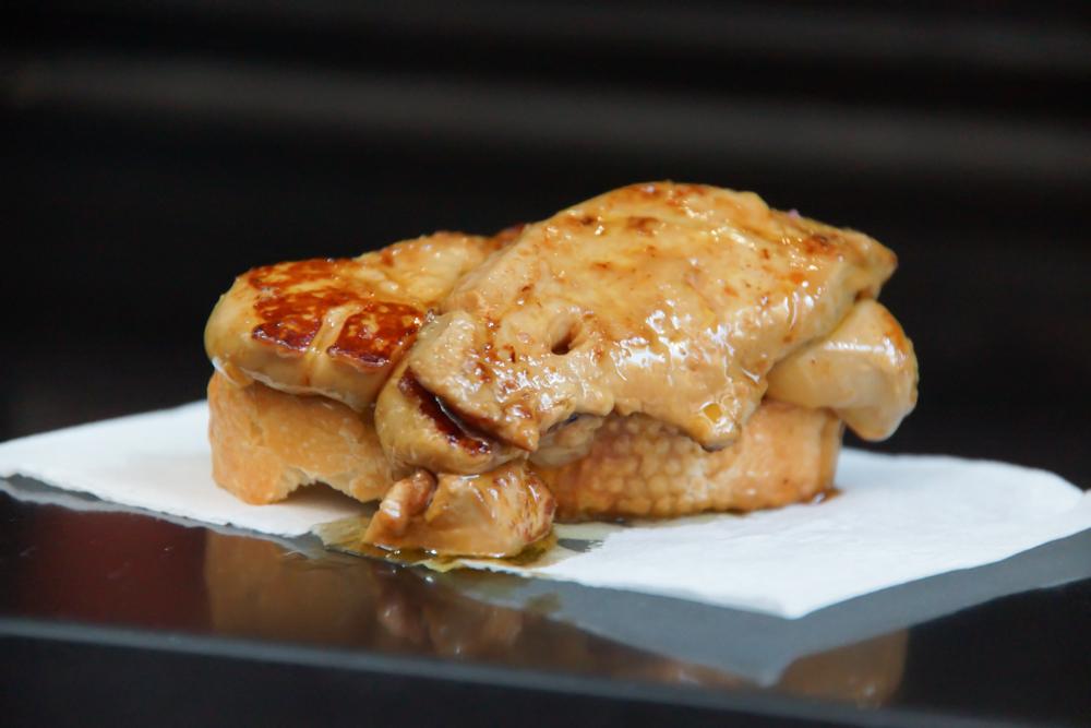 Foie gras Zubereiten