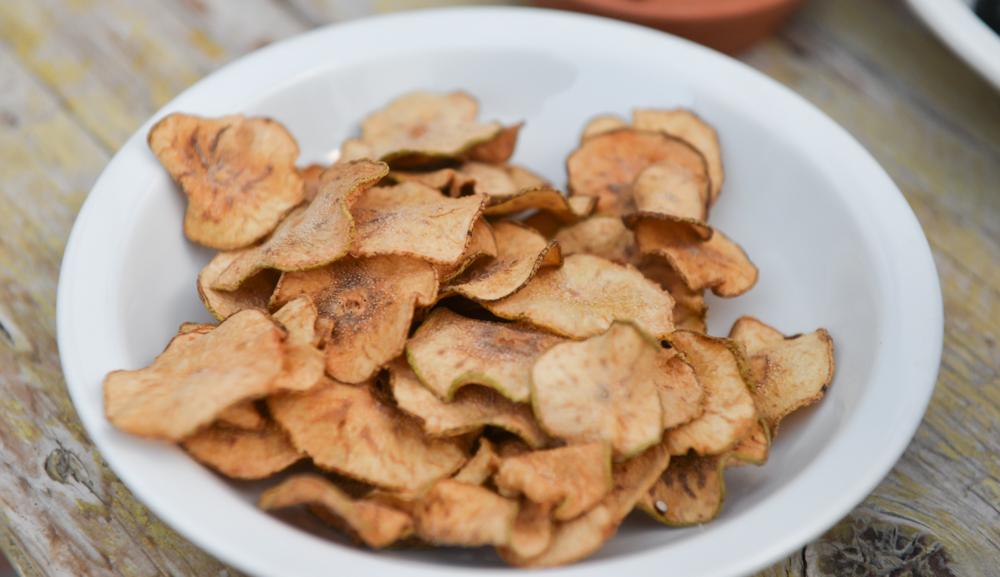 Getrocknete Birnenscheiben - Gesund und Lecker