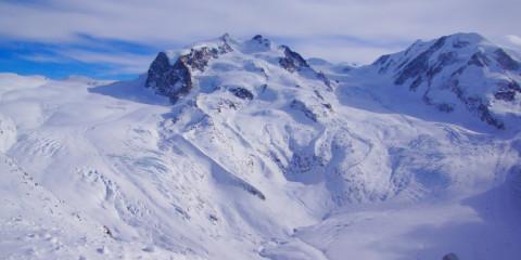 Gornergrad mit Schnee