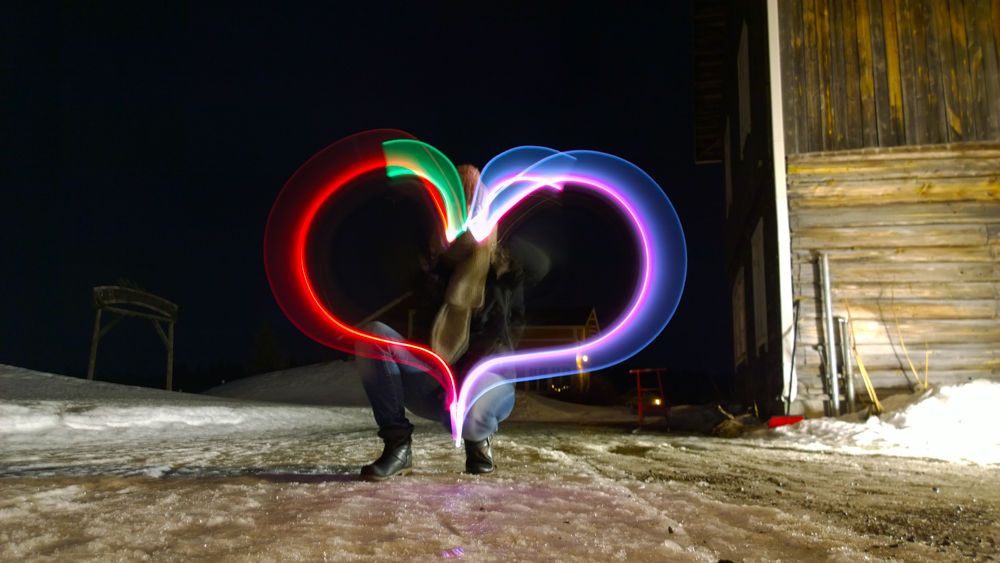 Lichtspiele im Winter - Einfach zauberhaft