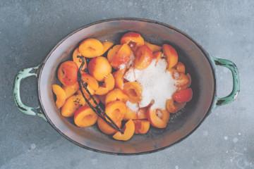 Rotbaecken Aprikosenkonfituere