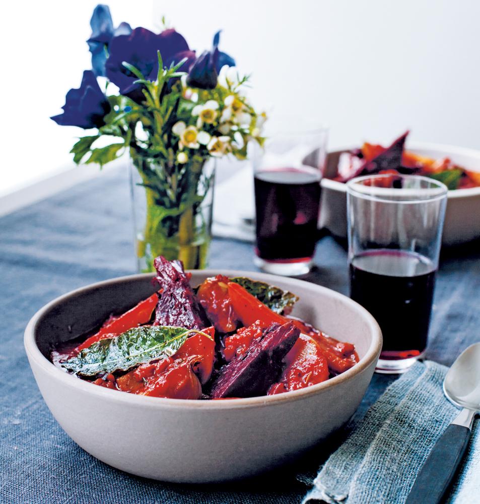 Köstlich vegetarische küche ein rezept von anna jones