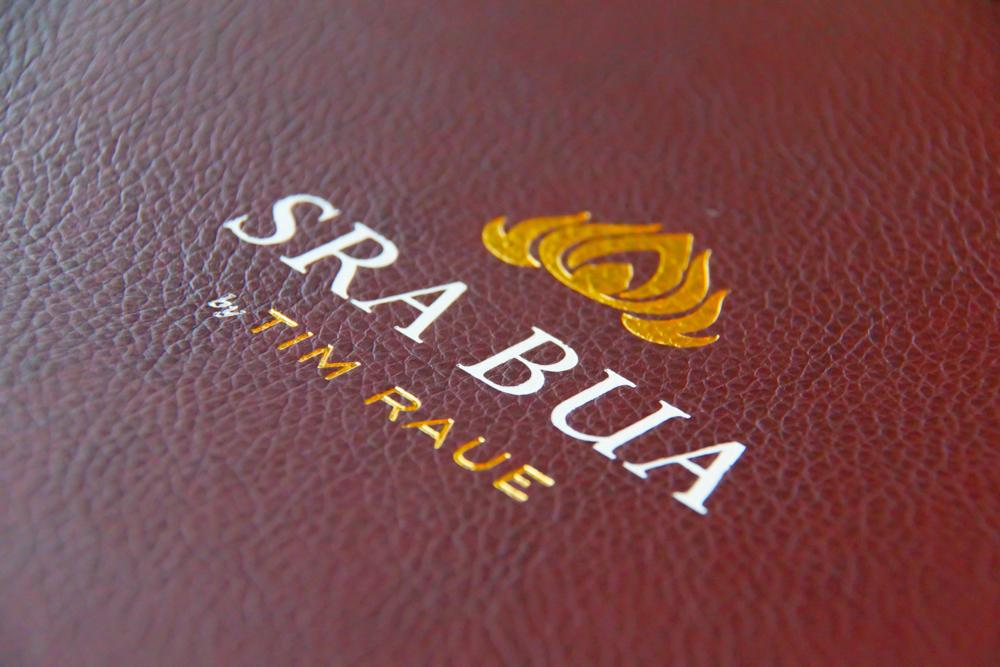 SRA BUA by Tim Raue - Die Karte
