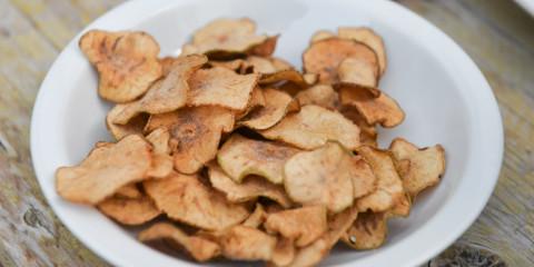 Birnenchips herstellen - Köstlich gesundes Snackfood
