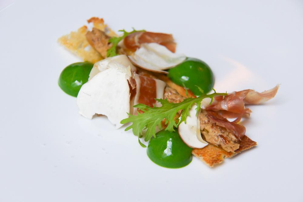 Die französische Küche im Chapon Fin genießen