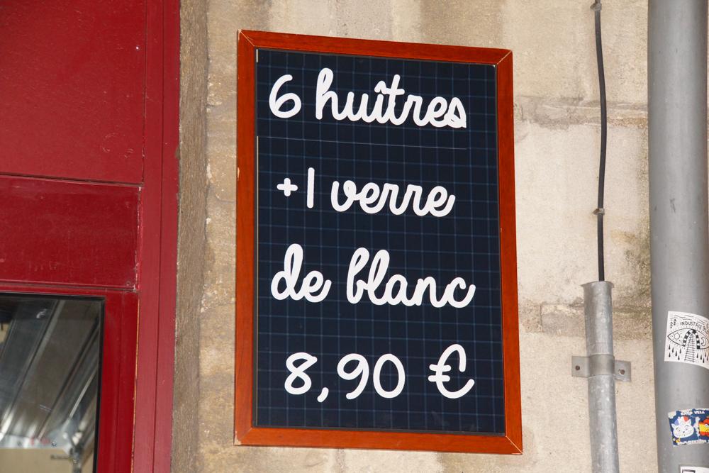 La Ligne Rouge Wein Bar - Absacker und Austern - einfach perfekt
