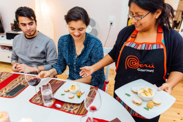 Peruanisch Speisen mit Menschen die Wissen, wie es richtig geht!