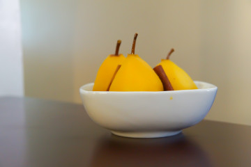Safranbirnen - Einfach ein köstliches aromatisiertes Obst