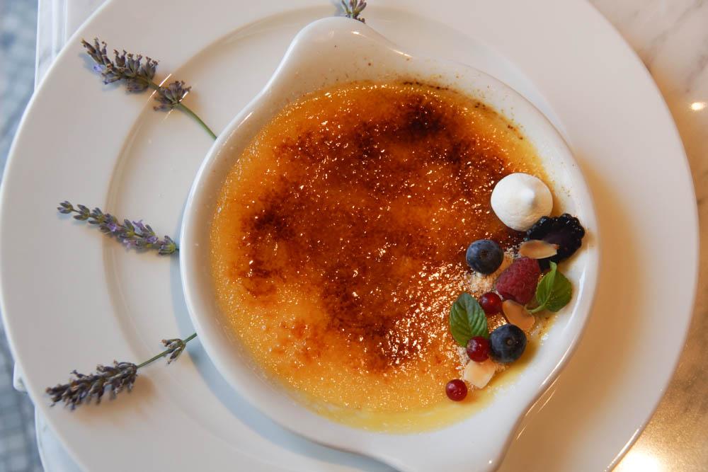 Brasserie Adriatic - Creme brulee