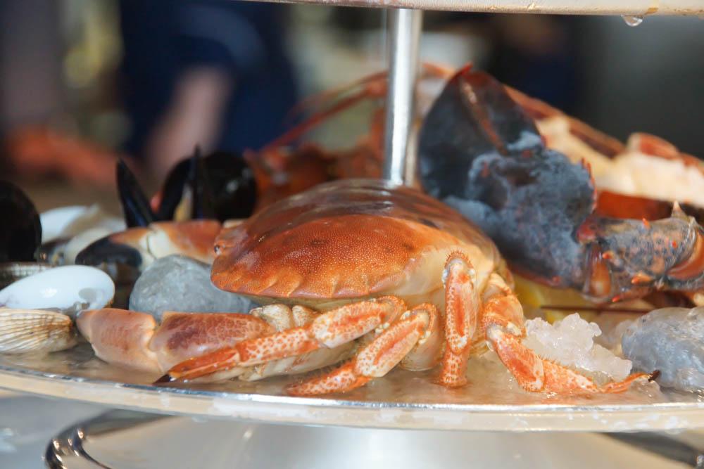 Brasserie Adriatic - Krebsplatte