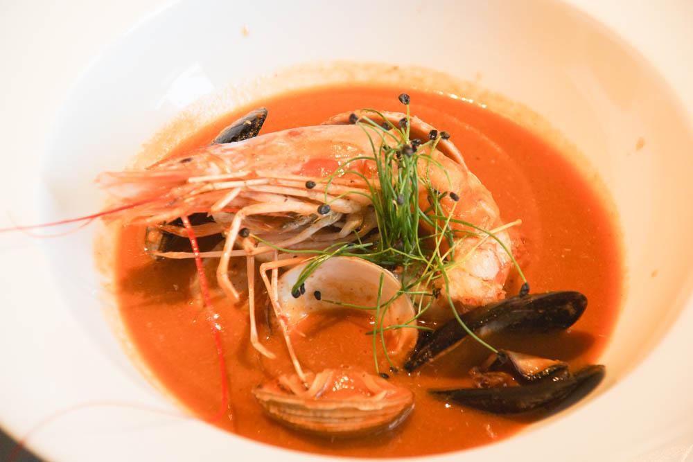 Brasserie Adriatic - Köstliche Fischsuppe französischer Art