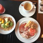 Frühstück im Hotel Molitor