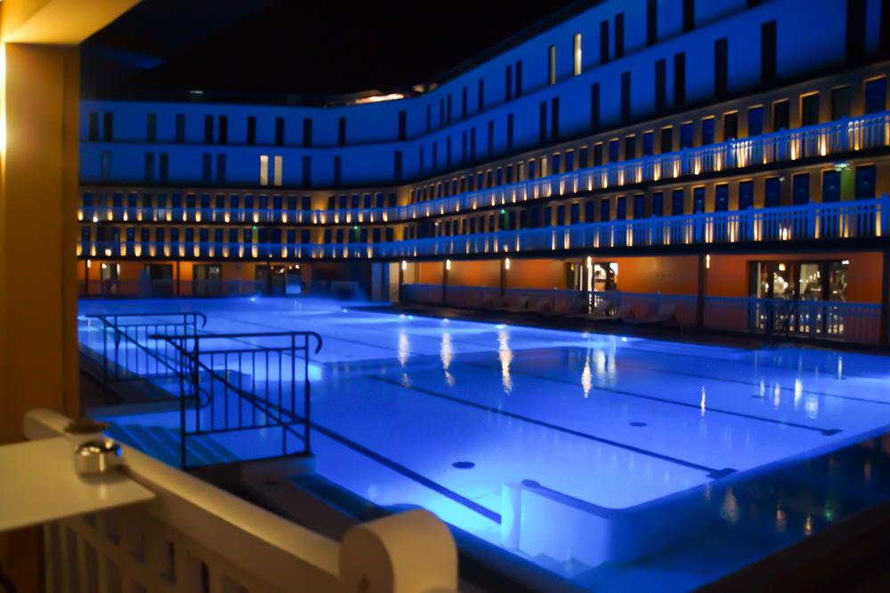 Hotel Molitor - Paris vom Pool aus