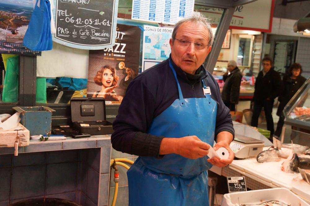 Marché de Talensac - Kompetente und freundliche Verkäufer