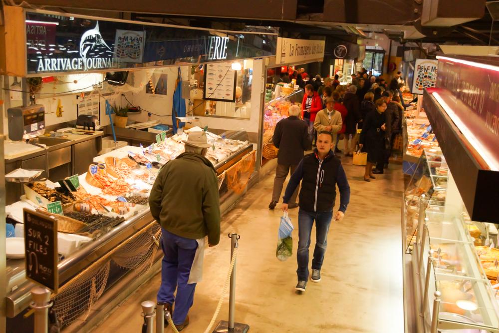Marché de Talensac in Nantes - Alles rund um Fisch gibt es hier