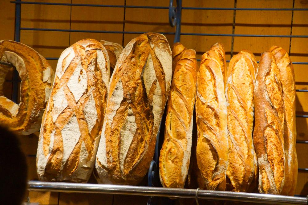 Marché de Talensac in Nantes - leckeres Brot in Bio-Qualität