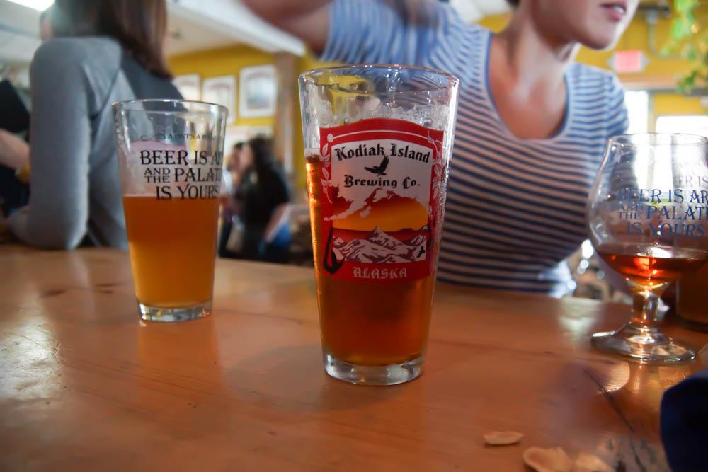 Biere der Kodiak Island Brewery