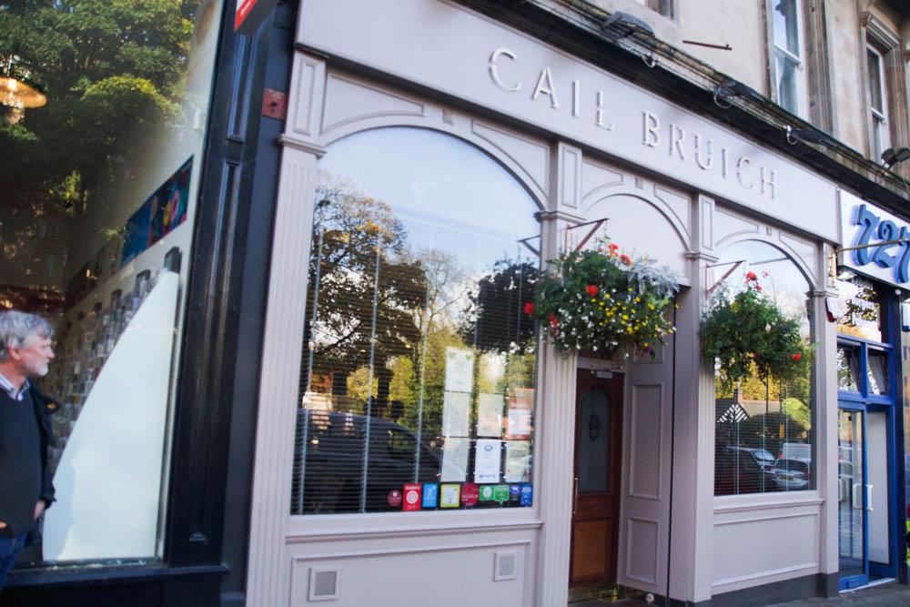 Cail Bruich Restaurant - Außenansicht