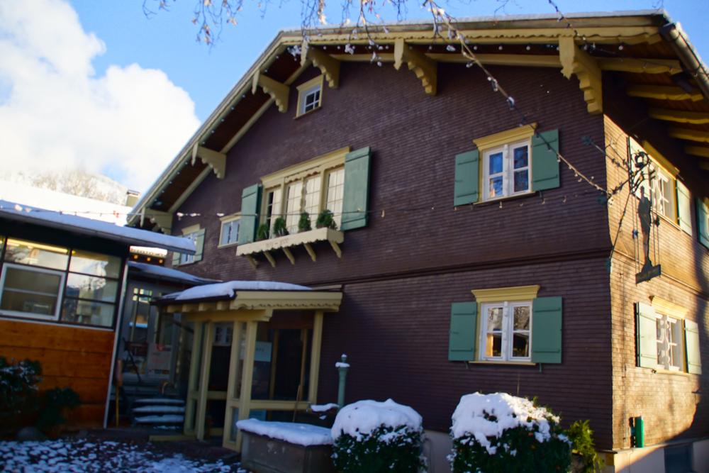 Das Jagdhaus in Oberstdorf