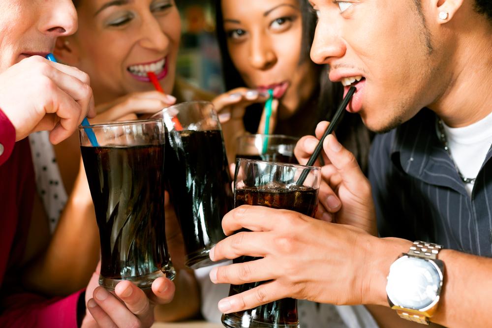 Gezuckerte Getränke - Ungesunde Kalorien - Ungesunde Lebensweise