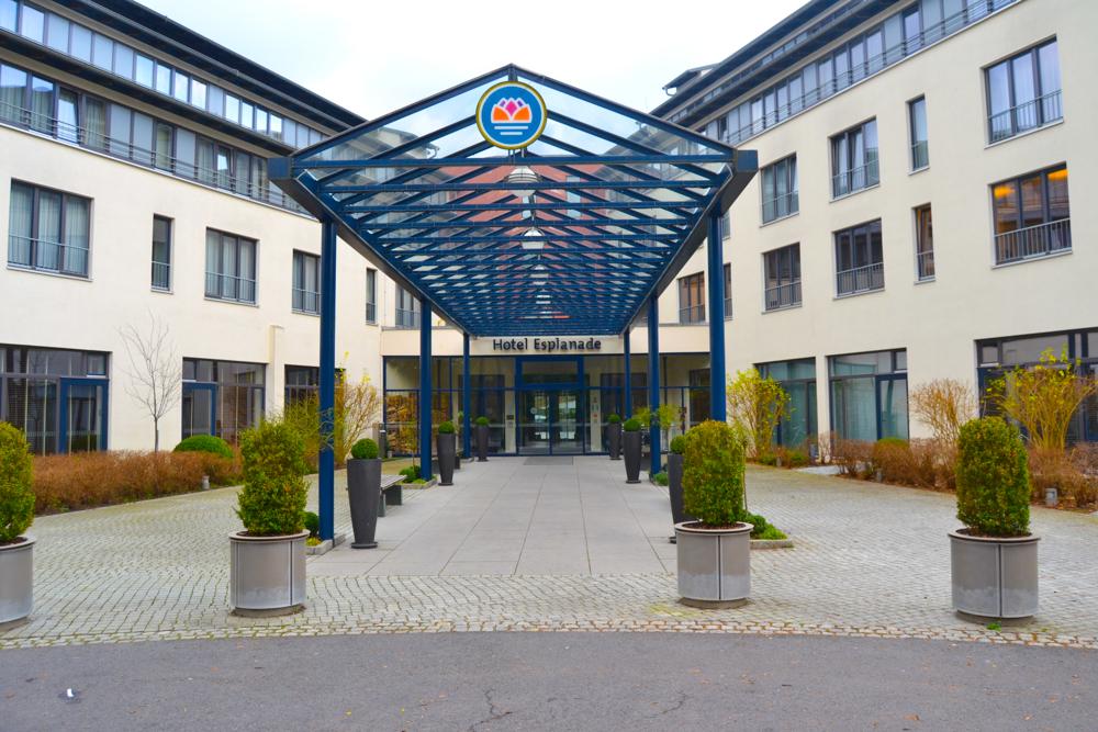 Hotel Esplanade Bad Saarow - Eingangsbereich