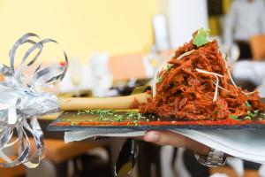 Lammkeule Indisch zubereitet