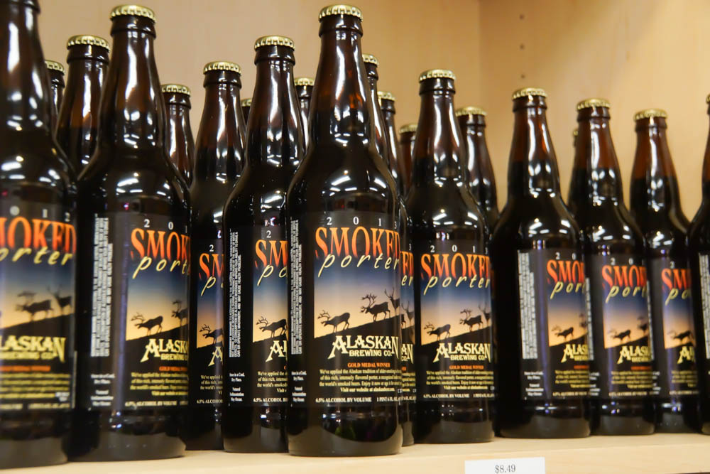 Smoked Porter Bier aus Alaska