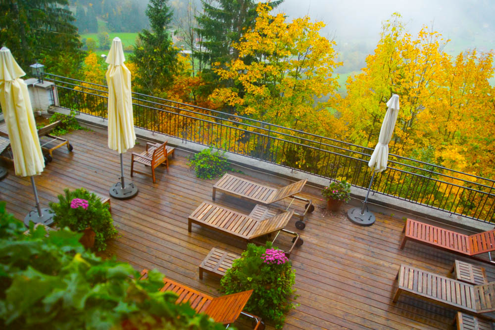 Haus Hirt - Bad Gastein - Entspannungsterrasse