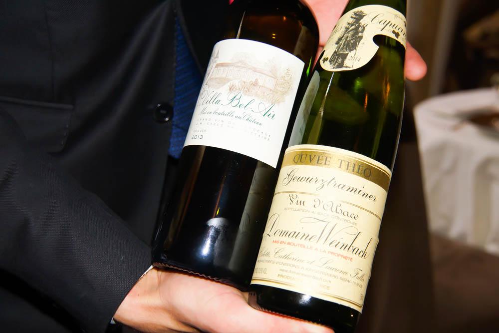 Le Chapon Fin Restaurant - Exzellente Weine