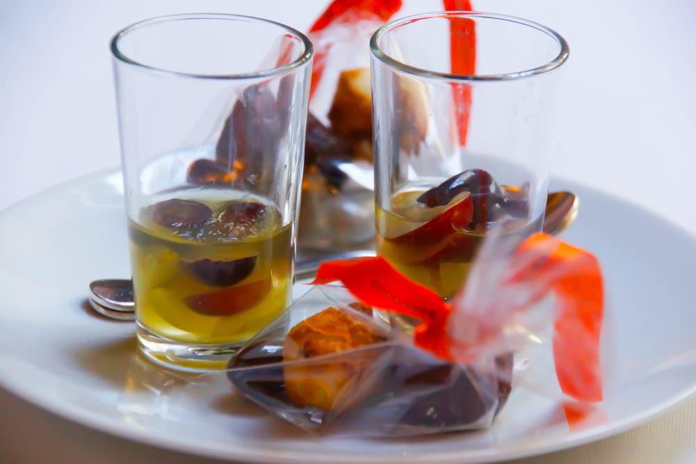 Le Chapon Fin Restaurant - Traubengelee Dessert